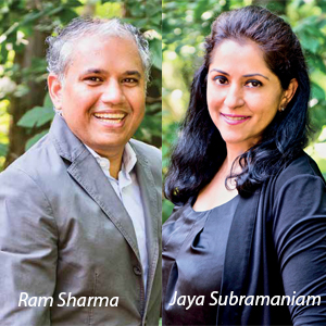Ram Sharma, Co-Founder, CEO, & Chairman and Jaya Subramaniam, Chief Strategy Officer, Analytical Wizards