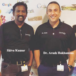 Shiva Kumar, Co-Founder & CTO and Dr. Arash Hakhamian, Co-Founder & CEO, Dentulu