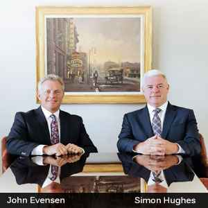John Evensen, COO & founder and Simon Hughes, CEO & founder, AVEC Health Solutions