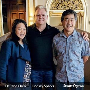 Dr. Jane Chen, MD, Stuart Ogawa, Co-founder and CTO & Lindsay Sparks, Forsent Health