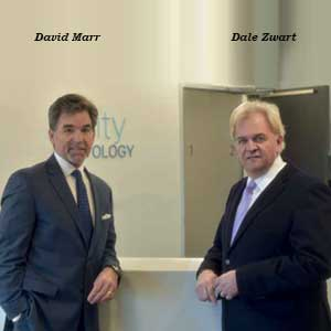 David Marr, CEO & Partner and Dale Zwart, CTO & Founding Partner, Inveni-QA