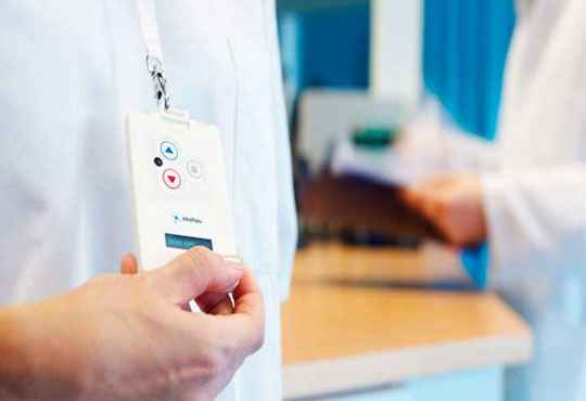 RFID-enabled Visitor Badges Eases Patient Registration and Documentation of Health Records
