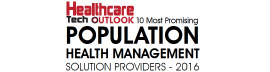 Top 10 Population Health Management Solution Companies - 2016