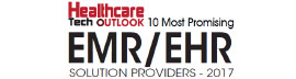 Top 10 EMR/EHR Solution Companies - 2017
